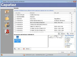 Documentos Adjuntos CAPATAZ Software