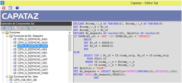 Objetos SQL