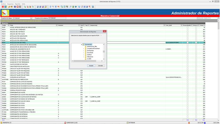 Nueva funcionalidad Capataz Software 2016
