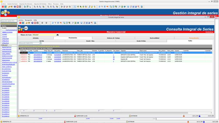 Novedad funcionalidad Capataz Software 2016