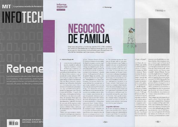 Negocios de Familia - InfoTechnology