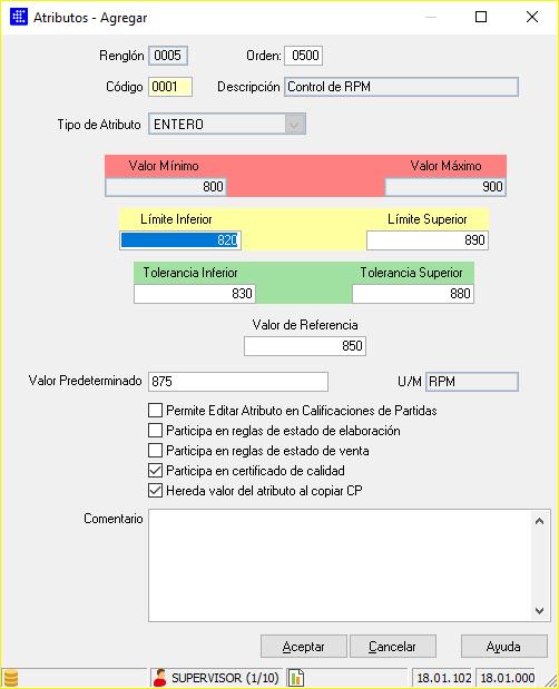 Caso de uso: Carga de un Plan de Control en CAPATAZ Software