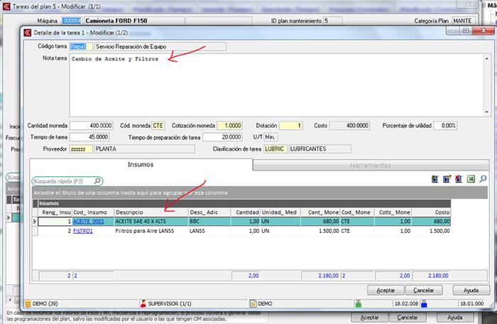 Mantenimiento preventivo para rodados CAPATAZ Software