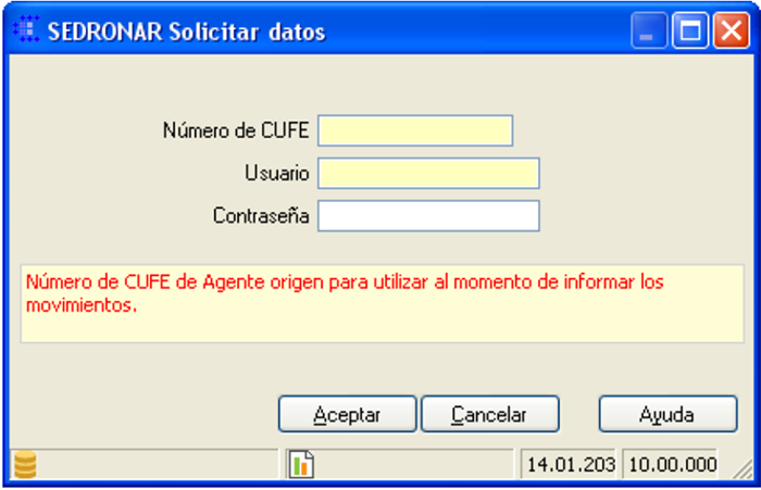 CAPATAZ Software Calidad · Proceso Sedronar RENPRE: Agentes